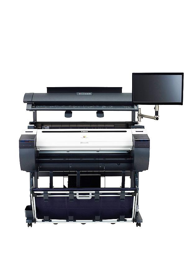 Plotter 36-44 pollici a colori CANON iPF785 MFP