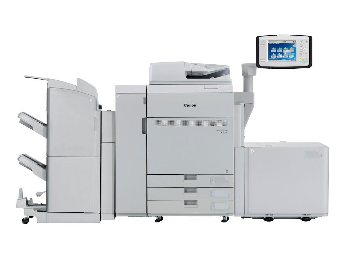 MF Production Colore CANON imagePRESS C650i